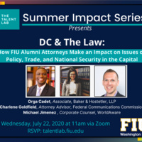 DC & The Law: How FIU Alumni Attorneys Make an Impact in the Capital