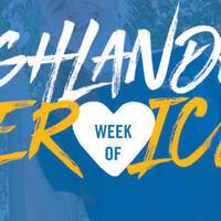 Highlander Week of Service