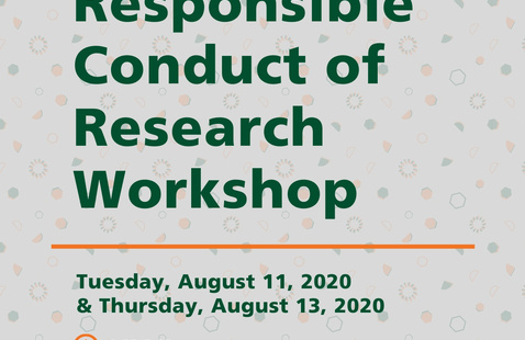 Fall 2020 Responsible Conduct of Research Workshop