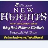 New Heights Artist Development Series - Using Music Platforms Effectively