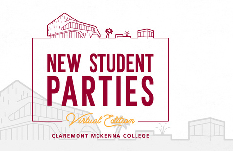 Claremont McKenna College New Student Party logo