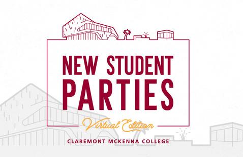 Claremont McKenna College New Student Party logo