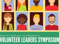 SC 4-H Volunteer Leaders Symposium on August 15
