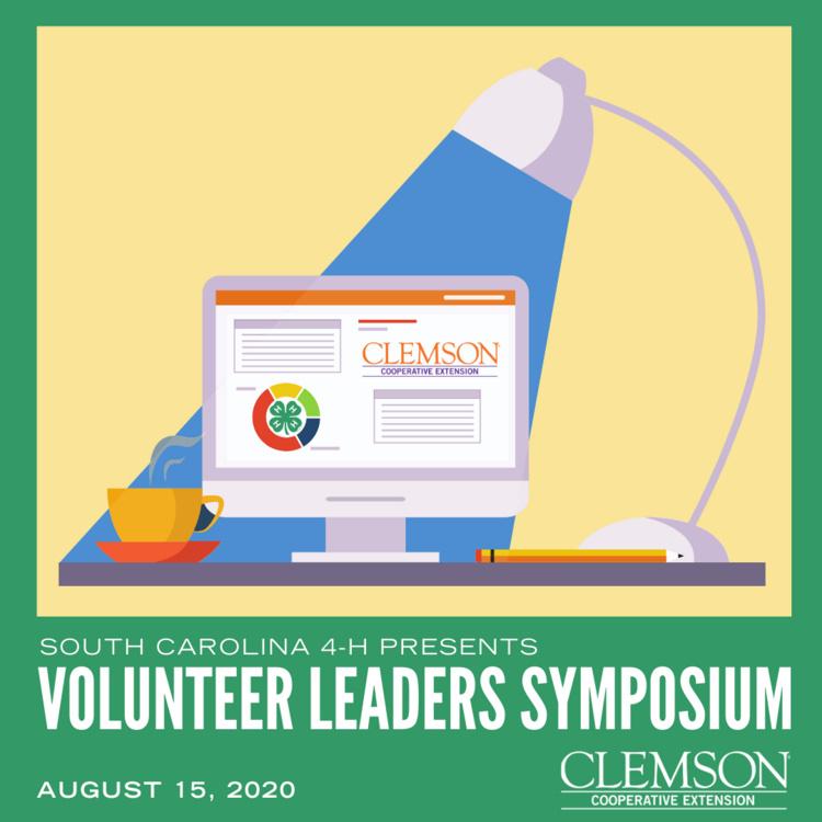 4-H Volunteer Leaders Symposium on August 15th