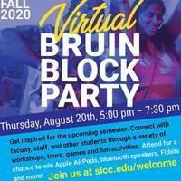 Fall 2020 Virtual Bruin Block Party