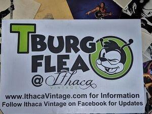 TBurg Flea at Ithaca Vintage August flea market