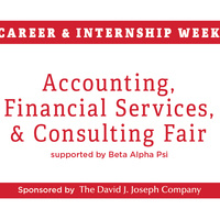 Fall Career & Internship Fair Week 2020 - Day 1: Accounting & Financial Services and Consulting