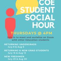 COE New Freshmen Social Hour