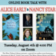 Online Author Talk: Alice C. Early and Nancy Star