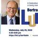 Celebration of Life for Bertram Lubin, MD