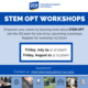 STEM OPT Workshop (International Students Only)