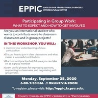 Participating in Group Work: What to Expect & How to Get Involved
