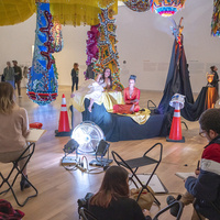 Drawing Together: Live Drawing with MassArt Studio Foundation