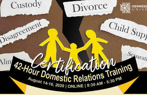Virtual: 42-Hour Domestic Relations Training