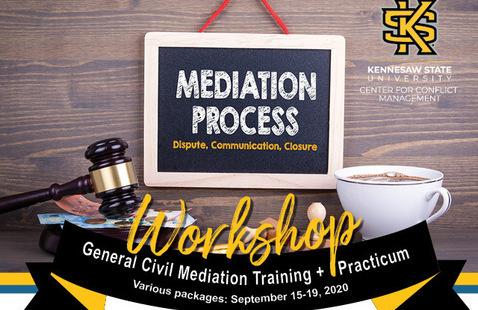 Virtual: General Civil Mediation Training + Practicum