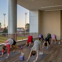 GroupX Class: Yoga Glow Flow