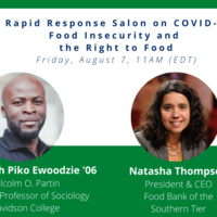 Rapid Response Salon on COVID-19: Food Insecurity and the Right to Food