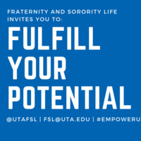 Fraternity and Sorority Life Interest Session