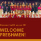 Spirit Freshmen Connection - Welcome Week!