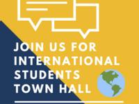 International Graduate Student Town Hall