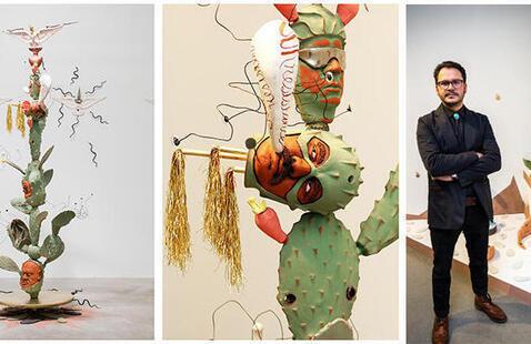 Visit an Artist - Salvador Jiménez-Flores
