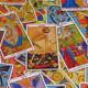 Random tarot cards