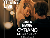 London's National Theatre Live! Presents Cyrano de Bergerac