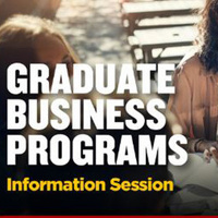 Virtual Info Session: Graduate Business Programs