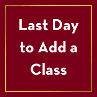 Last Day to Add a Class