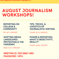 Journalism Workshop: Power & Reporting