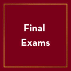 Final Examinations