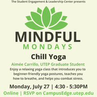 Mindful Mondays: A Meeting of the Mind: Yoga, Music & Art