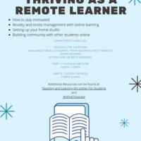 Thriving as a Remote Learner - Session II
