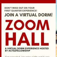 ZOOM HALL: Virtual Dorm Registration!
