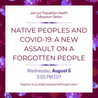 Population Health Colloquium | College of Health