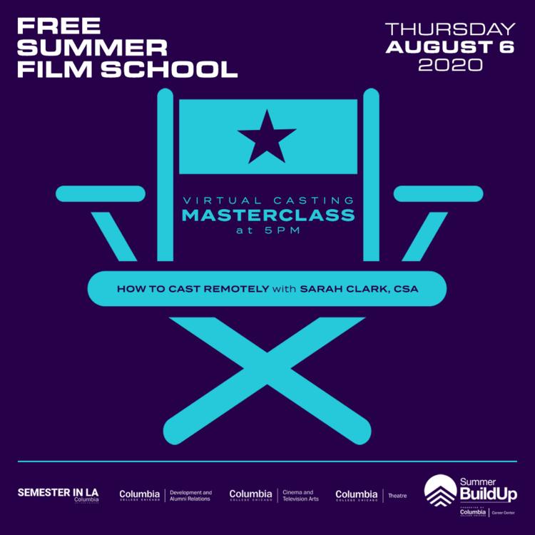 Virtual Casting Masterclass: How to Cast Remotely w/ Sarah Clark, CSA