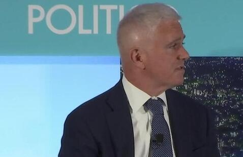 Patrick Steel, CEO of Politico featured in the Distinguished Leaders Lecture