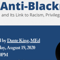 WEBINAR & POST DISCUSSION: Anti-Blackness and Its Link to Racism: Part II