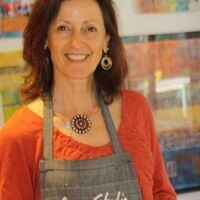 Mixed Media Abstract and Collage Workshop - 2-day with Kathy Leader