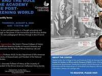 Race and the Role of the Academy in the Post-Awakening World, Virtual Speaker Series