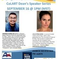 CoLART Dean's Speaker Series