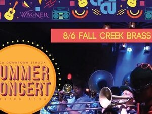 CFCU Summer Concert Series Presents Fall Creek Brass Band