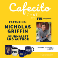"Cafecito Chat with Nicholas Griffin, author of ""The Years of Dangerous Days"""