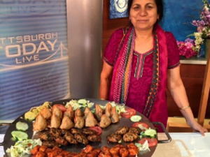 Usha Sethi- Owner and Executive Chef of Taj Mahal Restaurant