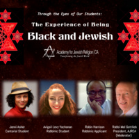 "Forum: ""Through the Eyes of Our Students: The Experience of Being Black and Jewish"""