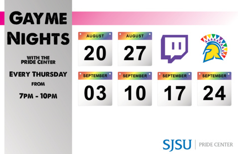 Gayme Night with the PRIDE Center
