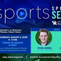 Esports Speaker Series: Forming The Narrative In Games  (Cancelled)