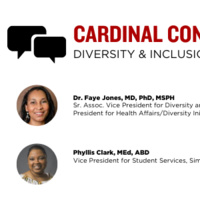 Cardinal Conversations with Dr. Faye Jones moderated by Phyllis Clark