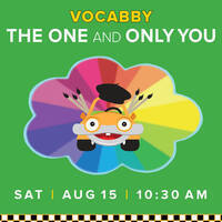 Vocabby's World: The One and Only You