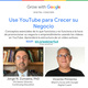 """""""Use YouTube para Hacer Crecer su Negocio"""" (en español)"""